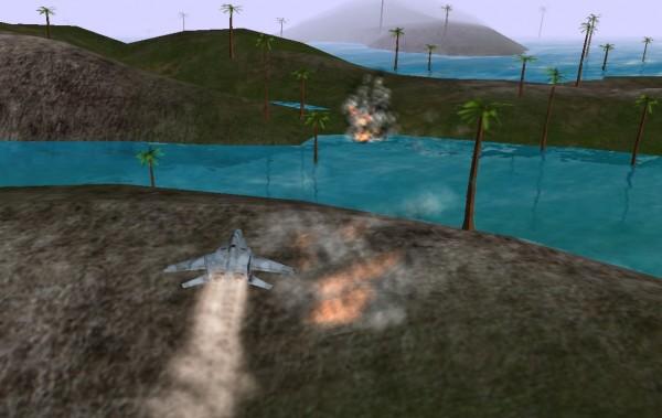 نمایی از بازی استراتژیک هواپیما میگ