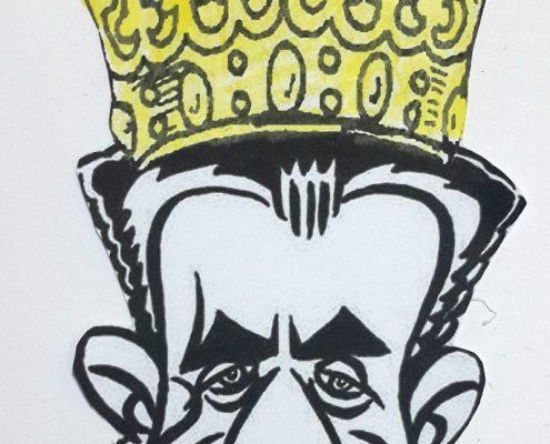 کاریکاتور های شاه